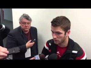 Video: Badgers QB Tanner McEvoy on his big TD run & the run Joel Stave had late