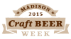 Madison craft beer week logo