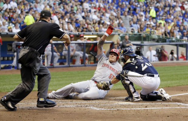 Brewers: Wily Peralta's solid outing sends Milwaukee past Cincinnati