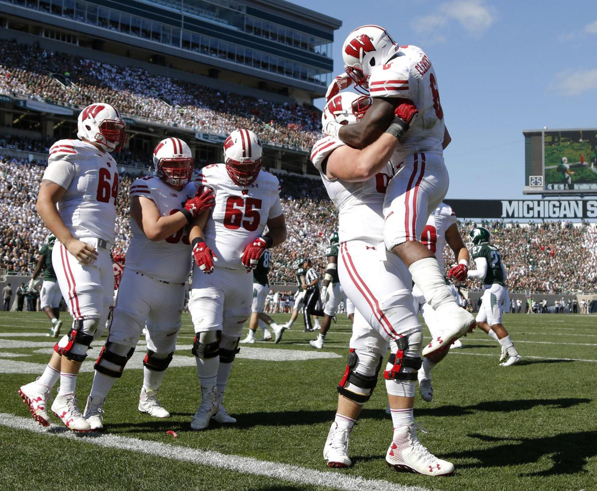 Image result for wisconsin beats michigan state