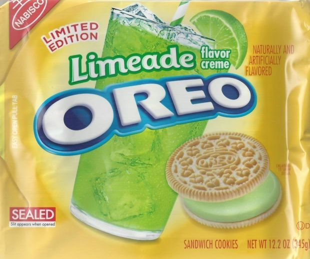 Yeah, I Ate That: Limeade and Peanut Butter Cup Oreos