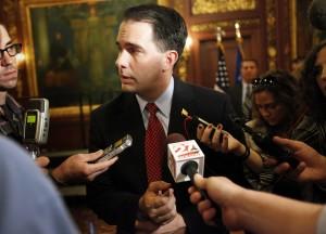 Gov. Scott Walker unveils agenda for Wisconsin during speech in California
