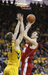 Badgers men's basketball: Frank Kaminsky leads the way to another win over Iowa
