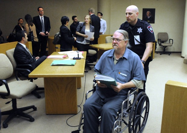 Frey wheeled out of Winnebago County court.