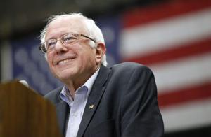 Photos: Bernie Sanders speaks to big crowd in Madison