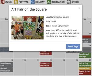 Interactive calendar: Best picks of the summer in Madison