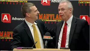 Video: Badgers coach Bo Ryan hijacks Mark Turgeon's news conference