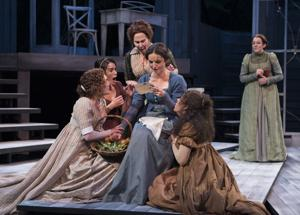 Theater review: Kinetic, joyful 'Pride and Prejudice' takes a fresh look at the Bennet sisters