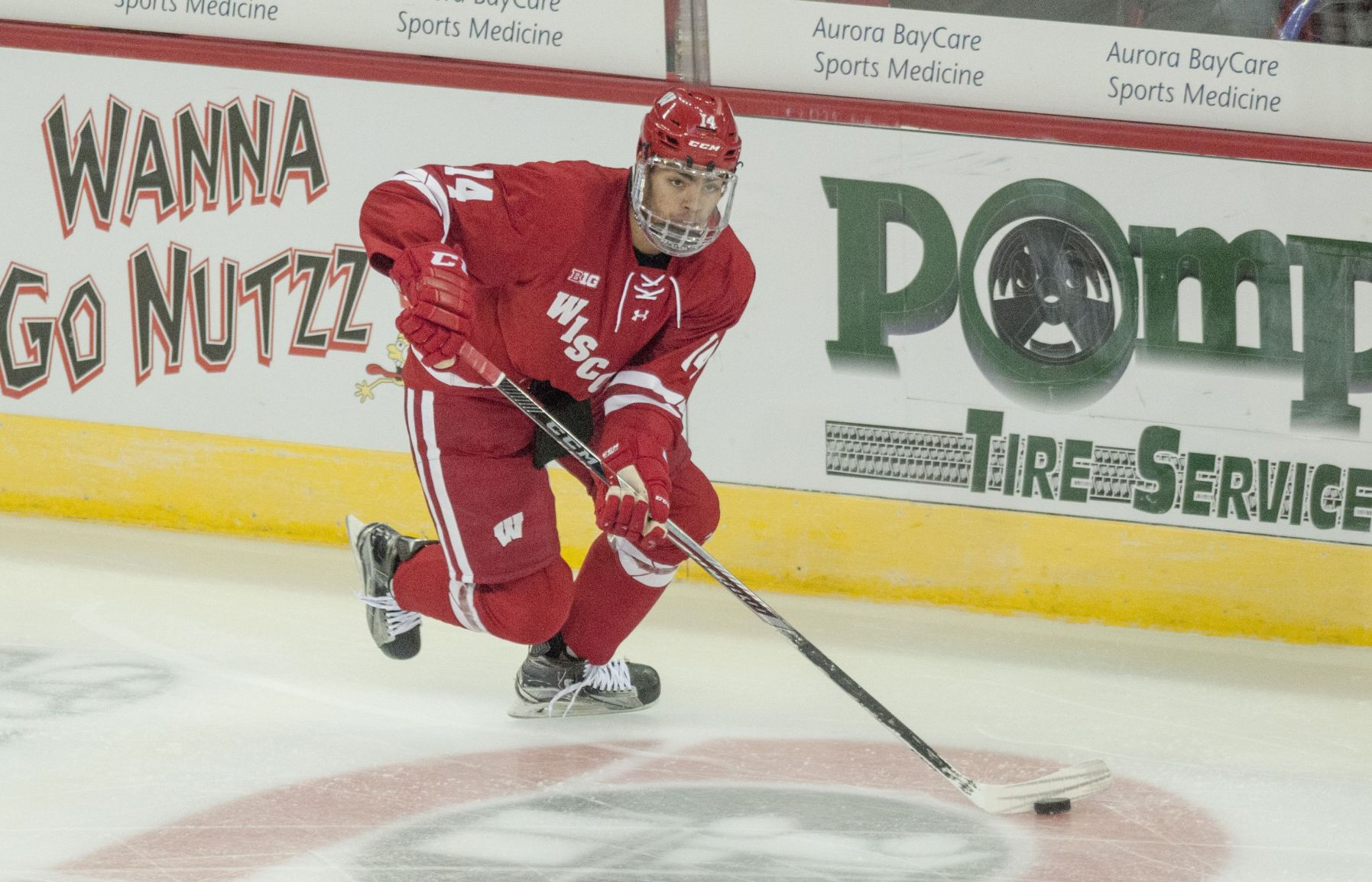BIG10: Badgers - For Defenseman JD Greenway, Brother Leads The Way