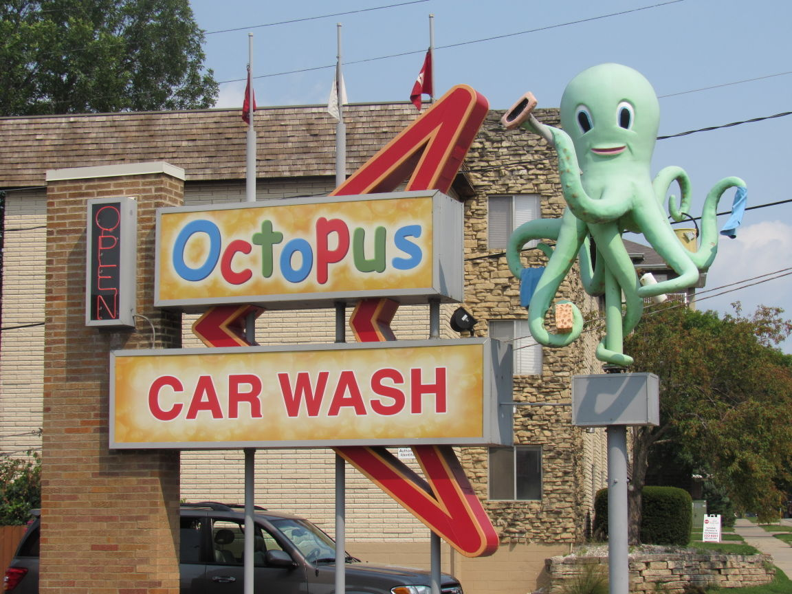 On Retail Octopus Car Washes Sold First Location Opened