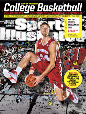 Badgers men's basketball: SI heaps love on UW, puts Frank Kaminsky on regional cover