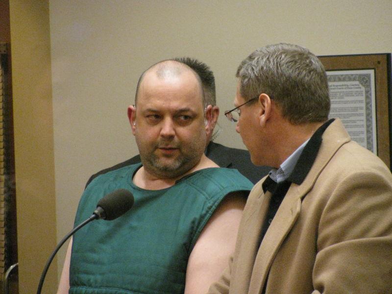 Dennis Jenks in court