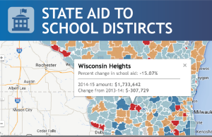 Interactive: 2014-15 state aid to schools