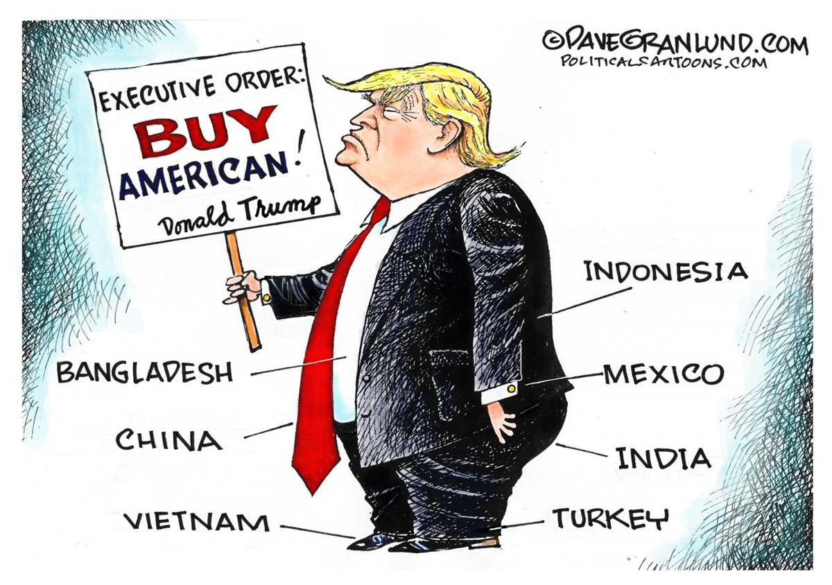 Trump Doesn T Buy American In Dave Granlund S Latest