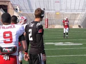 Video: Tanner McEvoy & Joel Stave to decide Badgers QB job
