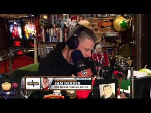 Video: Badgers' Sam Dekker appears Monday on 'Dan Patrick Show'