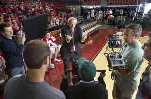 Badgers' Bo Ryan pitches for state tourism