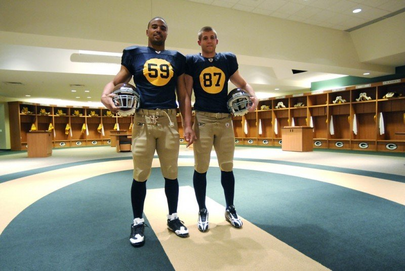 Official Nike Jerseys Cheap - Packers' alternate jersey a real throwback | Pro football | host ...