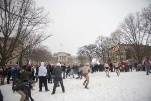 Bascom Snowball Fight
