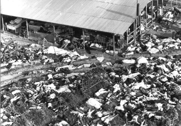 was jonestown murder or suicide The poisonings in jonestown followed the murder of five others by temple members at port kaituma, including united states congressman leo ryan, an act that jones ordered commit.
