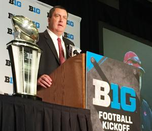 Photos: Badgers players, coach Paul Chryst meet the media in Chicago
