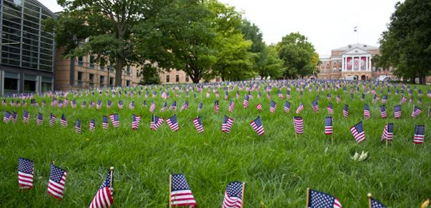 UW-Madison student groups remember 9/11