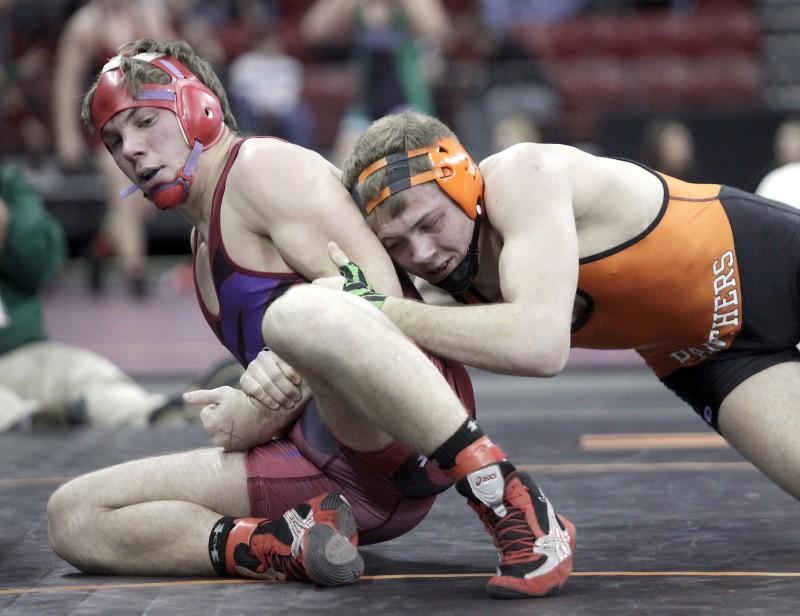 Photos: WIAA wrestling semifinals | High School Wrestling | host ...