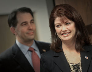 If Scott Walker is elected president, is Rebecca Kleefisch ready to be governor?