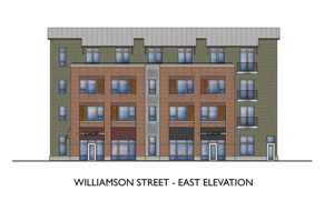 After uncertainty and revisions, Williamson Street development moving forward