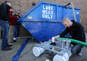 MATC students create system to slurp, remove algae from lakes