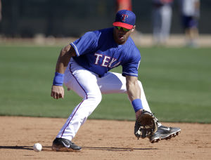 Photos: Ex-Badger Russell Wilson makes Surprise appearance with Texas Rangers