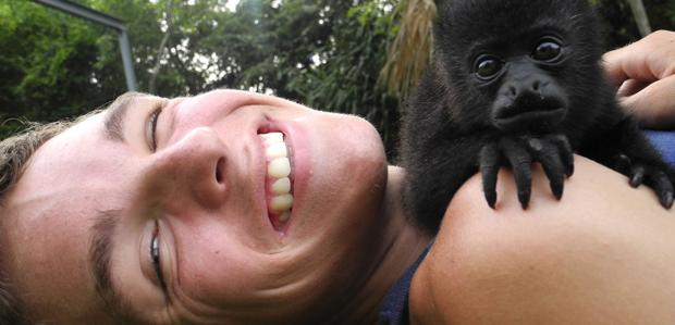 UW-Madison student helps save orphaned animals in Central America