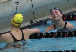 Photos: WIAA Division 1 state girls swimming meet