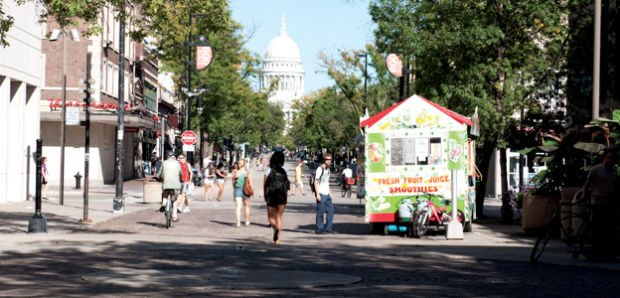 Food carts to be moved off State Street for more than six months