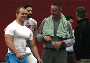 Photos: Ex-Badgers try to impress NFL scouts at UW Pro Day