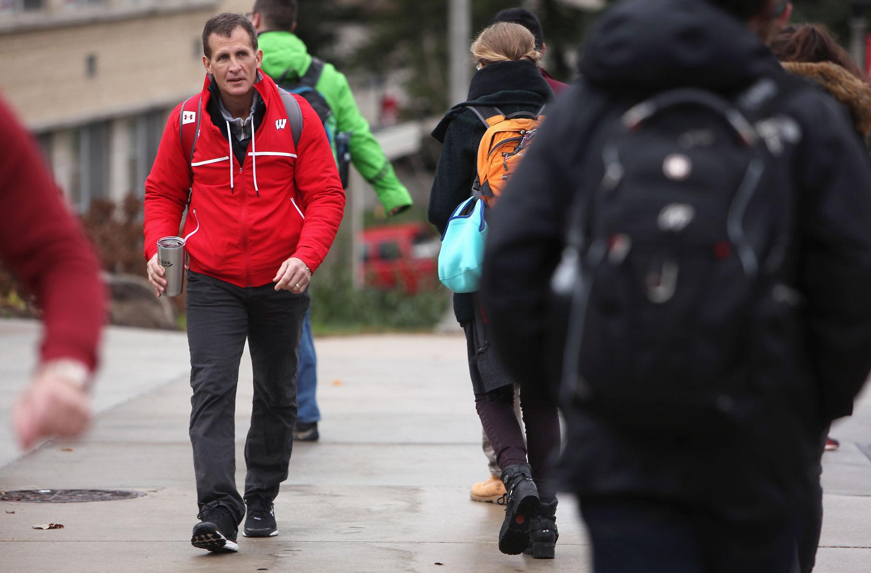 BIG10: Badgers - Graduation Completes A 'long Journey' For Wisconsin Coach Tony Granato