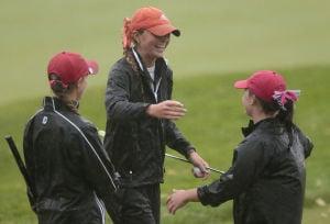 Photos: Rain can't damper Day 1 of WIAA state girls golf