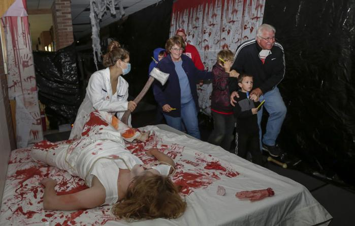 School Spotlight Mount Horeb Haunted House A Lesson In