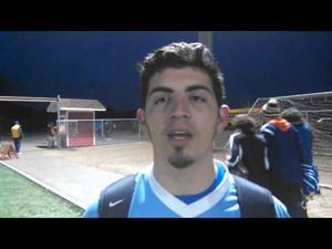 Video: GK Luis Pedroza & Beloit Memorial shower coach Brian Denu with a 'Happy Birthday' victory