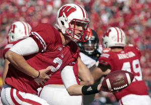 Video: Impact of UW's 2-QB system as Rutgers awaits