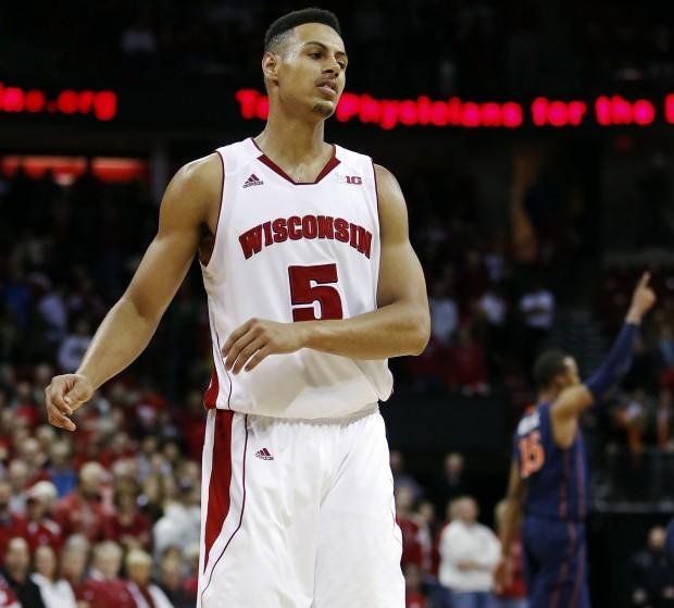 Badgers men's basketball: Ryan Evans seeks to change his colors at stripe : Sports