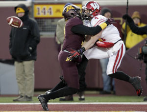 Photos: UW Badger football tops Minnesota, 20-7