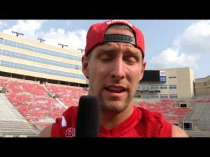 Video: Badgers WR Jordan Fredrick reacts to news of ex-teammate Jared Abbrederis