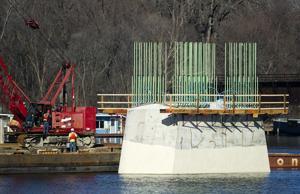 Photos: I-90 bridge construction at La Crosse