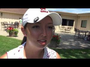 Video: Badgers golfer Becky Klongland on repeating as Wis. Women's State Am champion