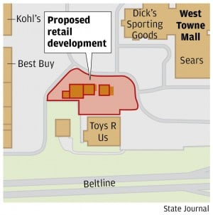 New stores chosen for long-vacant site outside West Towne Mall : Wsj