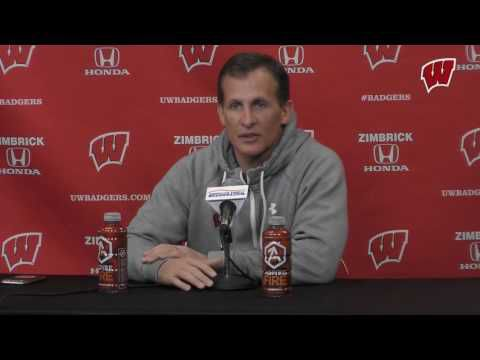 BIG10: Tony Granato's Badgers Aim To Keep Momentum (video)