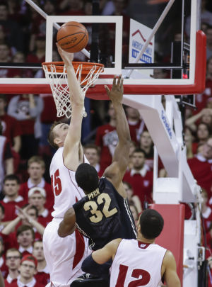 Photos: Badgers send seniors out with win over Purdue