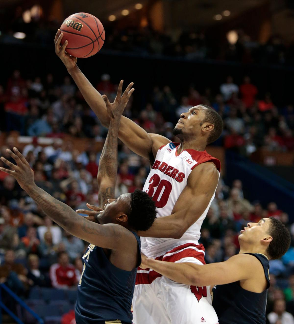 Badgers men's basketball: Vitto Brown turns it on down the ...