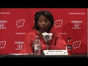 Video: UW's Bobbie Kelsey amazed at mentor's 900 wins